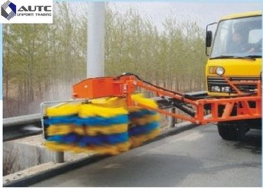 Highway Industrial Sweeping Brush Guardrail Cleaning Truck Nylon Cloth Strip