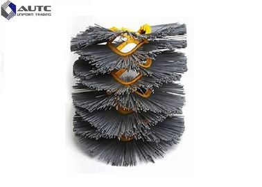 High Wear Resistant Snow Sweeper Brush Wafer Round Shape With OEM / ODM