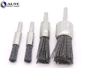 16mm / 24mm Crimped Wire Wheel Brush Lightweight High Performance Oem / Odm
